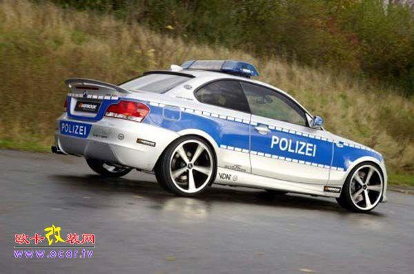 ac推出警车版宝马1系-欧卡改装网