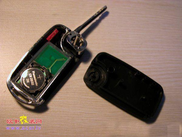 折叠钥匙 汽车折叠钥匙改装 配车遥控钥匙多少钱高清图片