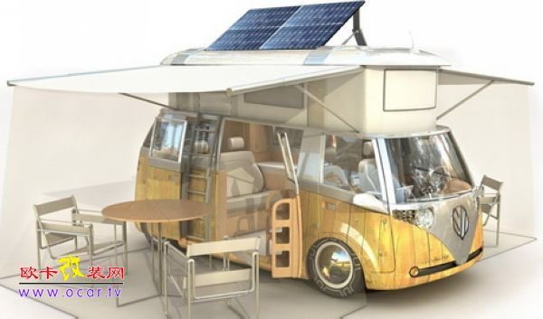 太阳能露营车改装