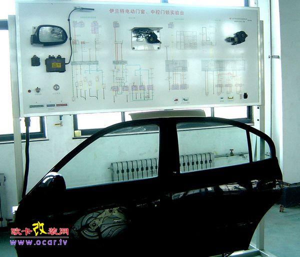 控制电路 电动门窗控制电路主要由电源