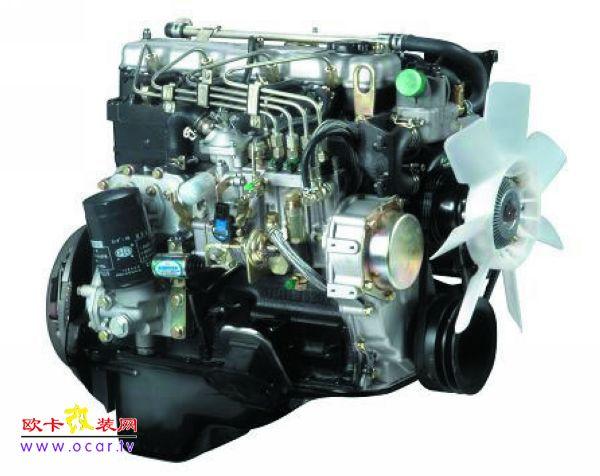 图为柴油发动机; 催化式排气净化器简介;
