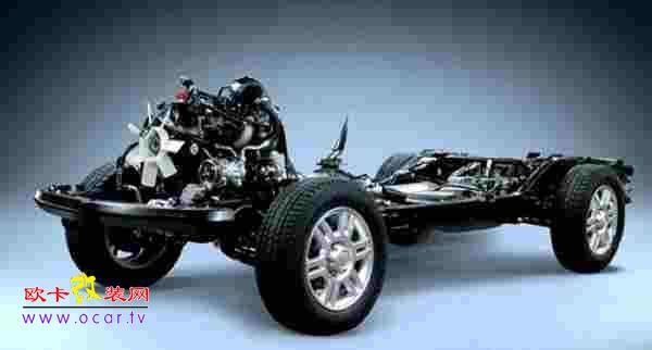 简述两种汽车底盘结构-欧卡改装网