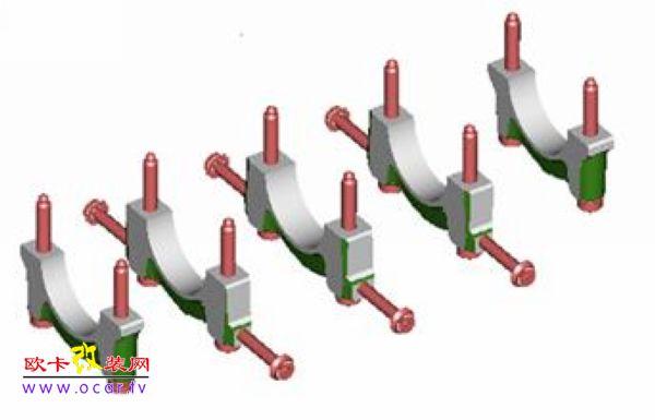 这种结构设计不仅减小轴瓦径向窜动,而且增加了发动机的刚性从而减小