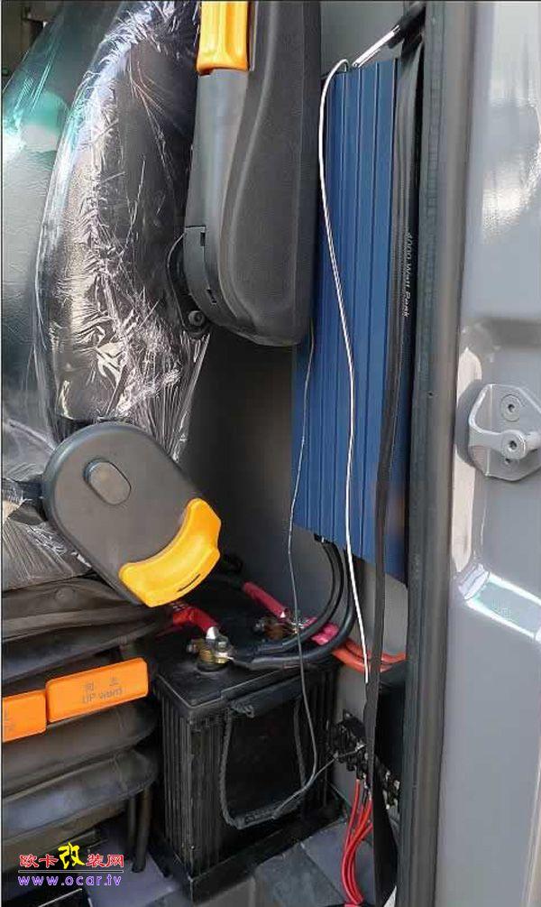 汽车dvd改装家用电源供电接线图